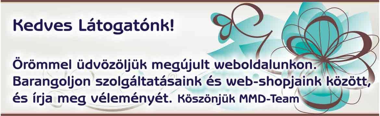 Üdvözöljük oldalunkon