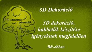 3D Dekoráció