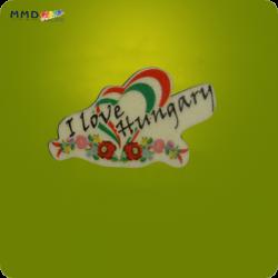 Hűtőmágnes - Szeretlek Magyarország