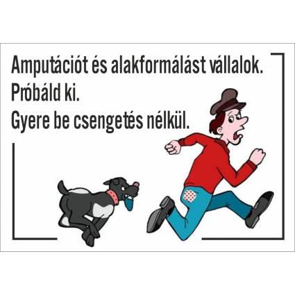 Kutyatábla 04