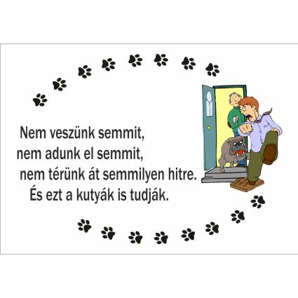Kutyatábla 07