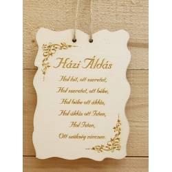 Fatábla - Házi áldás nagy2