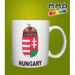 Bögre magyar címerrel