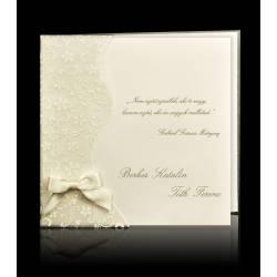 Esküvői meghívó E 6109