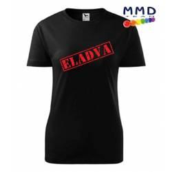 ELADVA-feliratos női póló