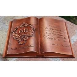 60. születésnapi ajándék fakönyv Édesanyáknak