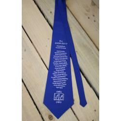 Egyedi ballagási nyakkendő kék
