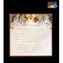 Esküvői meghívó M1014